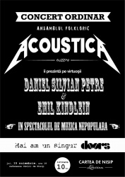 "Acoustica ""Monsters of Folk"""