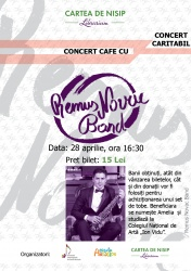Concert cafe Remus Novac Band
