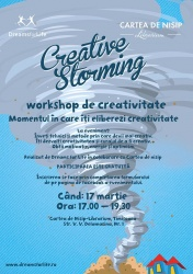Creative Storming. Workshop de creativitate