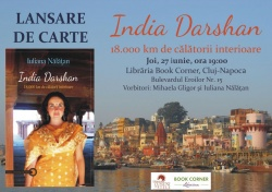 Lansare de carte: India Darshan de Iuliana Nălăţan