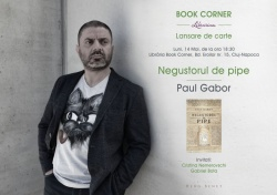 Paul Gabor la Book Corner