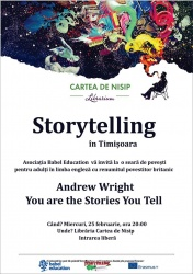 Storytelling cu Andrew Wright