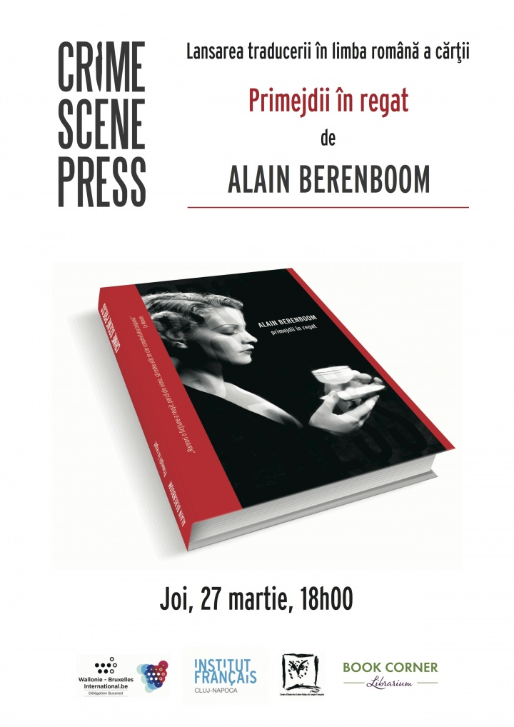 Alain Berenboom la Book Corner