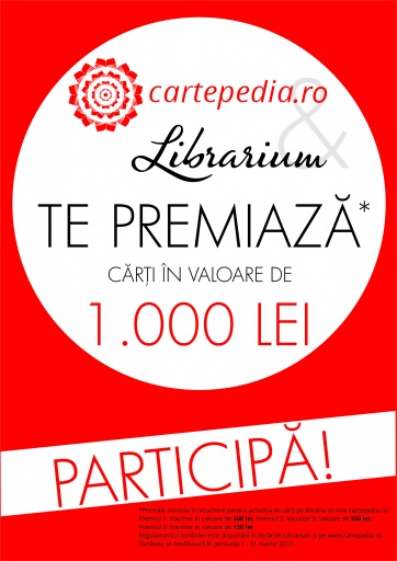 Librarium Mega Mall si Cartepedia te premiaza!