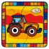 Puzzle Tractor - Puzzle 4 piese