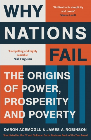 WHY NATIONS FAIL - DARON ACEMOGLU & JAMES ROBINSON